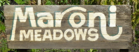 Maroni Meadows Entry Sign